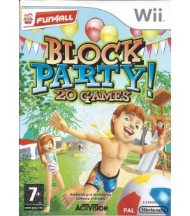 Block party 20 games- Wii