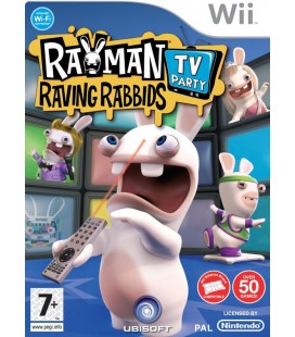 Rayman raving rabbids tv party- Wii
