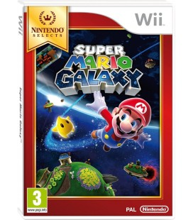 Super Mario Galaxy Nintendo Selects - Wii