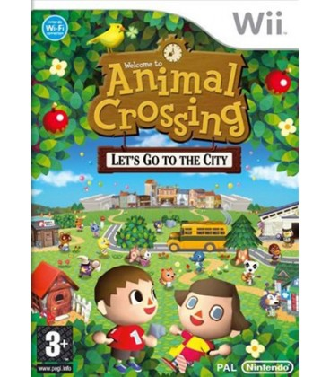 Animal Crossing Let's go to the city- Wii
