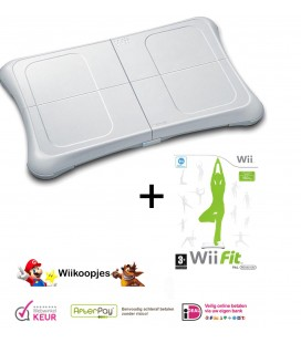 Wii fit + wii fit plus met 3th party balance board - Wii