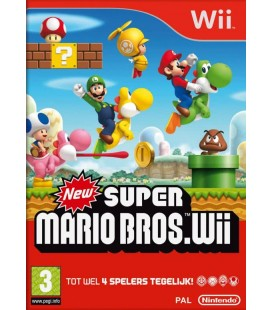 New super mario bros PAL wii (used)